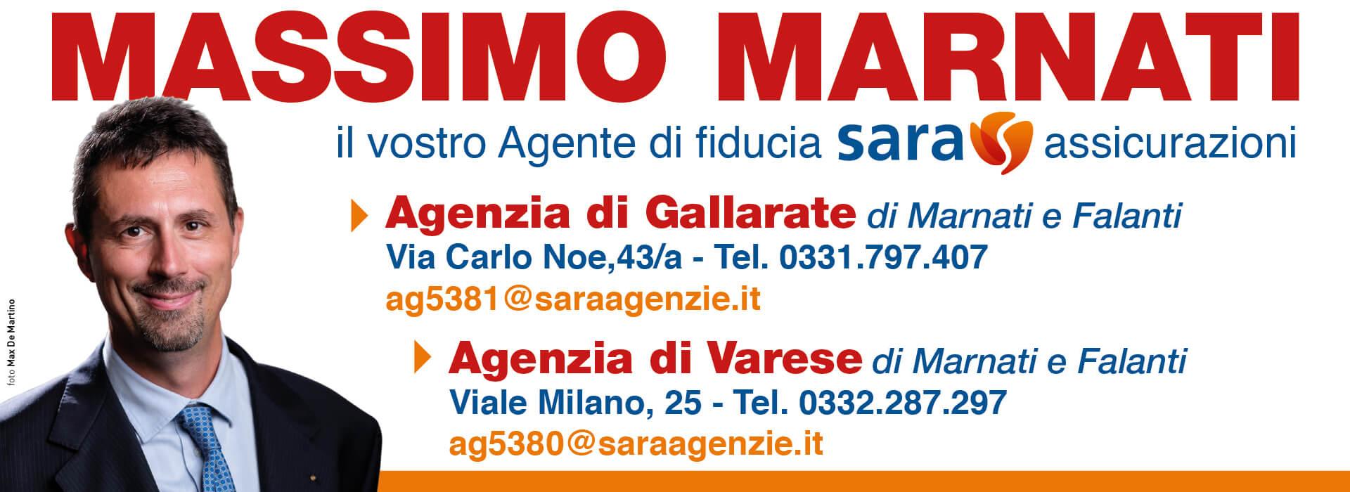 Massimo Marnati - Slider contatti agenzie Gallarate e Varese