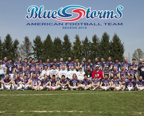 Massimo Marnati - Blue Storms American Football Team