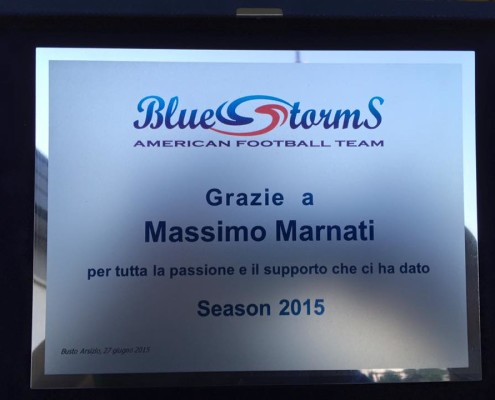 Massimo Marnati - Blue Storm American Football