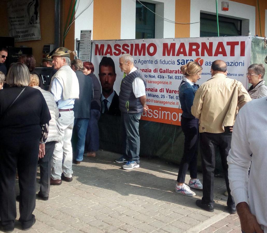 Massimo Marnati - Festa San Maurizio Busto Arsizio (VA) 2016